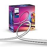 Philips Hue Play Gradient Lightstrip Striscia Led Smart 16 Milioni di Colori, 55', Illuminazione Sorround Sincronizzata con Colori TV