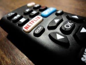 telecomando Netflix