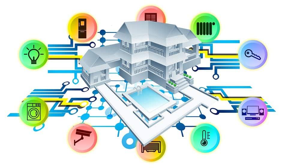 rete mesh casa multipiano