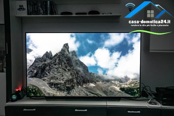 Immagine su TV LG OLED65PLA