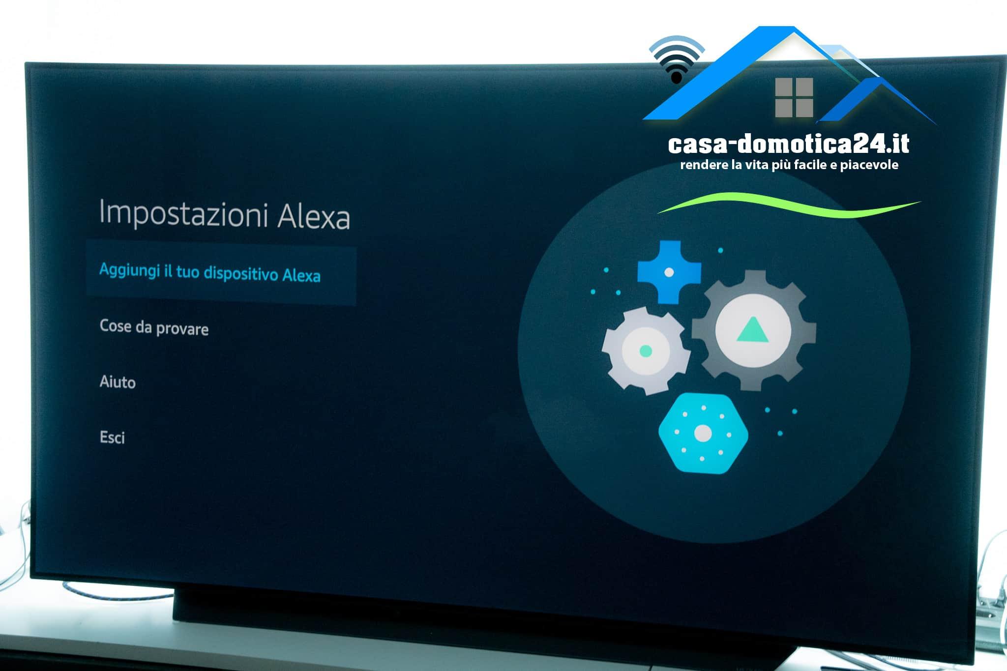 impostazione Amazon Alexa su LG Smart TV