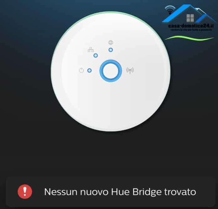 Philips Hue Bridge non si collega